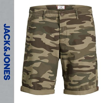 Printed Pants Camouflage Shorts