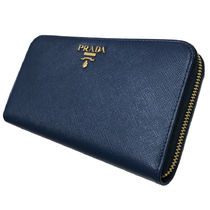 PRADA Leather Long Wallet  Long Wallets
