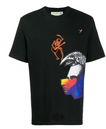 DIESEL More T-Shirts Street Style Collaboration Short Sleeves T-Shirts 5