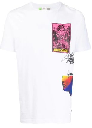 DIESEL More T-Shirts Street Style Collaboration Short Sleeves T-Shirts 6