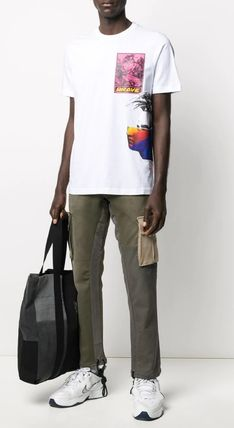 DIESEL More T-Shirts Street Style Collaboration Short Sleeves T-Shirts 8