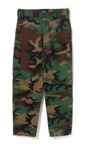 X-Large Printed Pants Camouflage Unisex Street Style Cotton