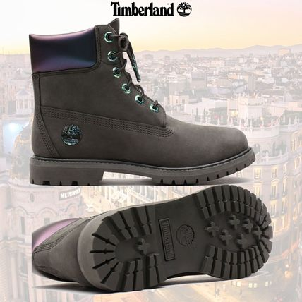 Casual Style Suede Street Style Plain Logo Boots Boots