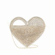 rosantica Heart 2WAY Chain Party Style With Jewels Elegant Style