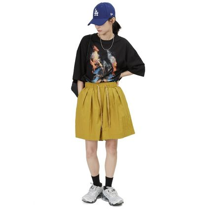 Raucohouse More T-Shirts Cotton Short Sleeves Oversized Logo T-Shirts 3