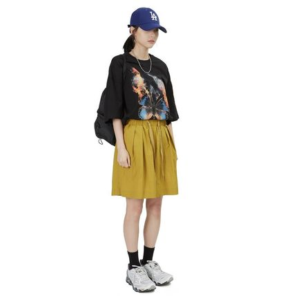 Raucohouse More T-Shirts Cotton Short Sleeves Oversized Logo T-Shirts 4