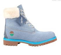 Timberland Street Style Collaboration Kids Girl Boots