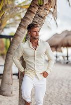 Father & Sons Shirts Street Style Long Sleeves Plain Shirts 10