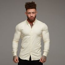 Father & Sons Shirts Street Style Long Sleeves Plain Shirts 11