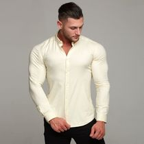 Father & Sons Shirts Street Style Long Sleeves Plain Shirts 14