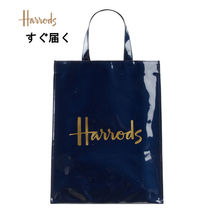 Harrods Casual Style Unisex A4 Plain PVC Clothing Office Style