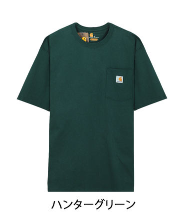 Carhartt Crew Neck Crew Neck Pullovers Unisex Street Style Cotton Short Sleeves 7