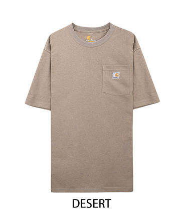 Carhartt Crew Neck Crew Neck Pullovers Unisex Street Style Cotton Short Sleeves 9
