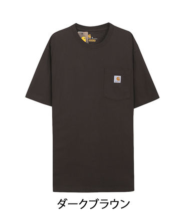Carhartt Crew Neck Crew Neck Pullovers Unisex Street Style Cotton Short Sleeves 11