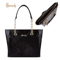 Harrods Casual Style A4 Office Style Elegant Style Logo