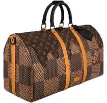 Louis Vuitton Monogram Collaboration Logo Boston Bags