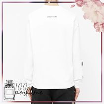STUSSY Crew Neck Pullovers Street Style Collaboration Long Sleeves