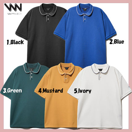 WV PROJECT Casual Style Unisex Collaboration Polos