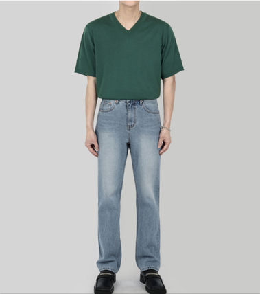 SCENERITY More Jeans Denim Plain Cotton Jeans 2
