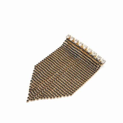 Handmade Party Style Fringes Brass With Jewels Elegant Style