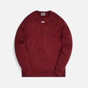 KITH NYC Long Sleeve Crew Neck Unisex Street Style Long Sleeves Plain Cotton 2