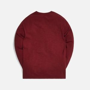 KITH NYC Long Sleeve Crew Neck Unisex Street Style Long Sleeves Plain Cotton 3