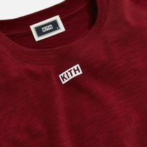 KITH NYC Long Sleeve Crew Neck Unisex Street Style Long Sleeves Plain Cotton 4