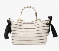 Lollipops Stripes 2WAY Party Style Office Style Formal Style  Handbags