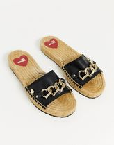 Love Moschino Casual Style Logo Sandals Sandal