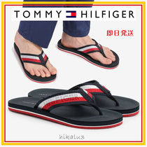 Tommy Hilfiger Stripes Unisex Shower Shoes Flipflop Logo Shower Sandals