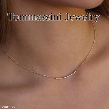 Casual Style Unisex Chain Handmade Party Style 14K Gold