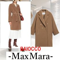 MaxMara Camel And Wool Coat