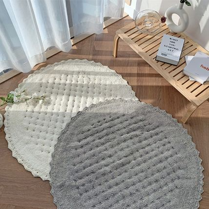 Plain Round Outdoor Mats & Rugs Carpets & Rugs