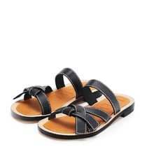 LOEWE Open Toe Casual Style Plain Leather Sandals Sandal