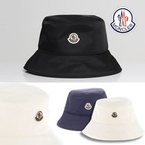 MONCLER Unisex Street Style Wide-brimmed Hats