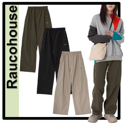 Raucohouse Casual Style Unisex Street Style Pants