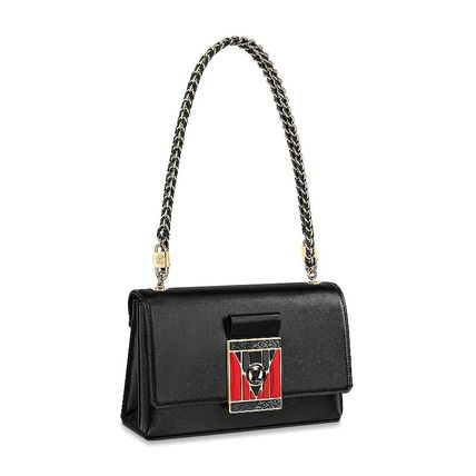 Louis Vuitton POCHETTE LV THELMA black shoulder bags