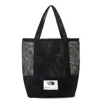THE NORTH FACE WHITE LABEL Casual Style Unisex Street Style A4 2WAY Plain Logo Totes