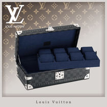 Louis Vuitton DAMIER GRAPHITE 8 Watch Case