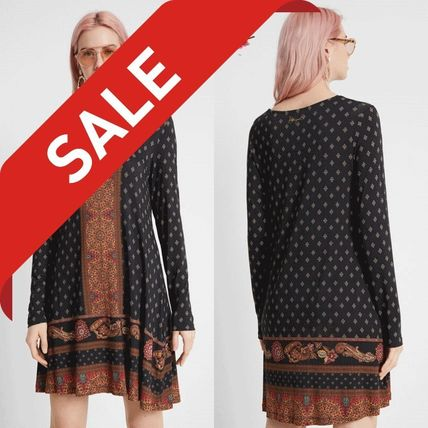 Short Casual Style Long Sleeves Dresses