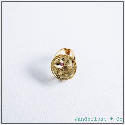 Star Casual Style Party Style Brass 18K Gold Elegant Style
