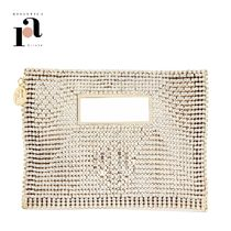 rosantica Handmade Party Style With Jewels Elegant Style Logo Clutches