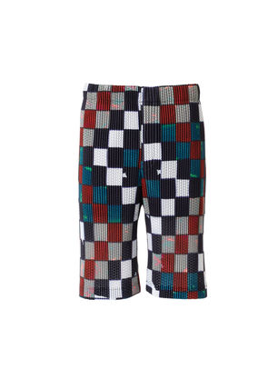 ISSEY MIYAKE Printed Pants Other Plaid Patterns Patterned Pants