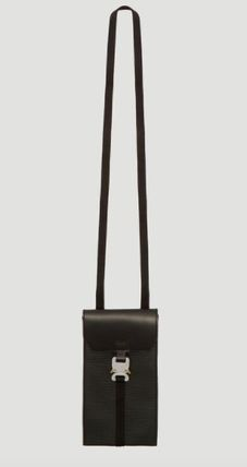 Leather Logo Messenger & Shoulder Bags