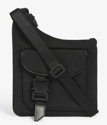 Plain Logo Messenger & Shoulder Bags