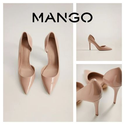 Casual Style Pin Heels Party Style Elegant Style