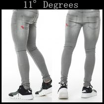 11 Degrees More Jeans Street Style Plain Jeans 6