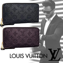 Louis Vuitton Unisex Leather Python Long Wallet  Long Wallets