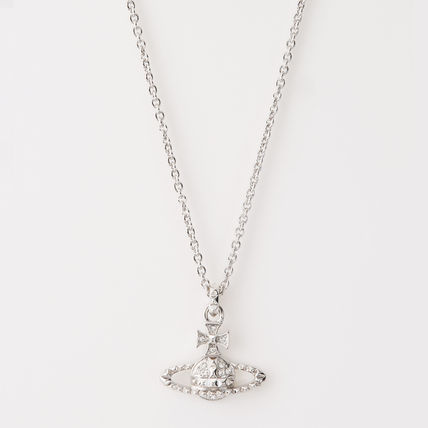 Vivienne Westwood Casual Style Chain Party Style Silver Brass