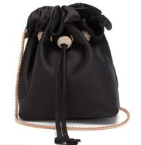 SOPHIA WEBSTER Casual Style 2WAY Plain Party Style Purses Crossbody